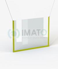 Защитная перегородка экран из каркаса ЛДСП